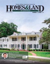 Homes & Land of Gainesville Magazine Cover