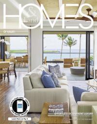 Homes & Land of Kauai Magazine Cover
