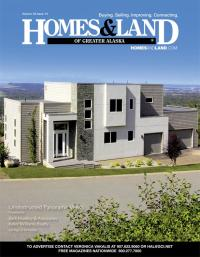 Homes & Land of Greater Alaska Magazine Cover