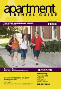 Rental Guide of The Upper Cumberland Region Magazine Cover