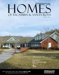 Homes of Escambia & Santa Rosa Magazine Cover