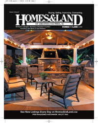 Homes & Land of Greater Columbia, S.C. Magazine Cover
