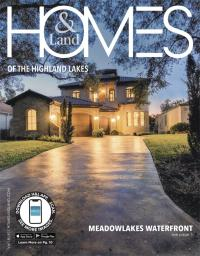Homes & Land of The Highland Lakes Magazine Cover
