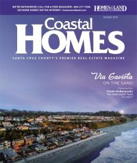 Homes & Land of Santa Cruz Magazine Cover