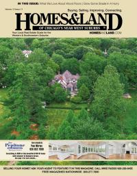 Homes & Land of Chicago's Near West Suburbs Magazine Cover