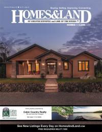Homes & Land of Greater Winnipeg Magazine Cover