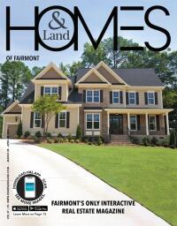 Homes & Land of Fairmont Magazine Cover