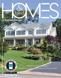 Homes & Land of The Morgantown Area Magazine Cover