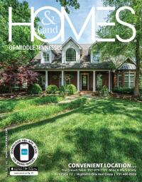 Homes & Land of Middle Tennessee Magazine Cover