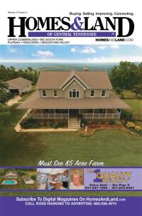 Homes & Land Digest of Central Tennessee Magazine Cover