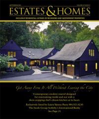 Estates & Homes of Richmond Magazine Cover