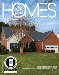 Homes & Land of Hickory, Mooresville, Statesville Magazine Cover