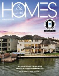 Homes & Land of North Houston Magazine Cover
