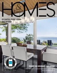 Homes & Land of Seattle, Puget Sound Area and Beyond Magazine Cover