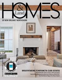Homes & Land of New Orleans' Northshore Magazine Cover