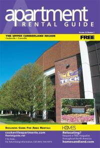Rental Guide of The Upper Cumberland Region Magazine Cover