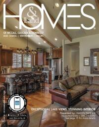 Homes & Land of McCall, Cascade & Donnelly Magazine Cover
