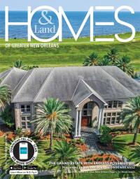 Homes & Land of Greater New Orleans, La Magazine Cover