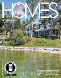 Homes & Land of Suburban Chicagoland, Lakeshore, North, West, & The NW Magazine Cover