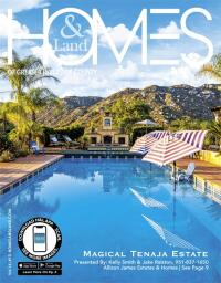 Homes & Land of  Greater Riverside County Magazine Cover