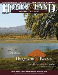 Homes & Land of Greater El Paso Magazine Cover