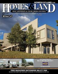 Homes & Land of West Jefferson and Clear Creek Counties Magazine Cover