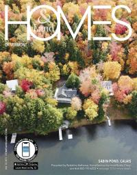 Homes & Land of Vermont Magazine Cover