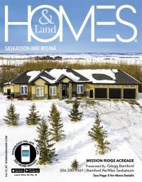 Homes & Land of Saskatoon and Regina Magazine Cover