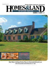 Homes & Land of Western Maryland Magazine Cover